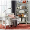 MISSION ACCENT TABLE-RW/WHT+