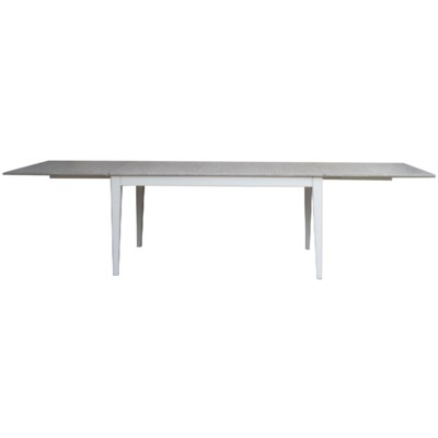 EASTON REUNION TABLE - WHITE/RIVERWASH