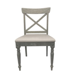 CROSS BACK SIDE CHAIR - RW+