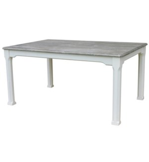 HARBORTON BREAKFAST TABLE -  WHT/RW+