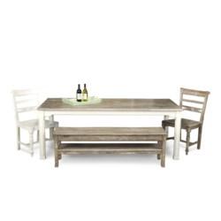 HARBORTON DINING TABLE -  WHT