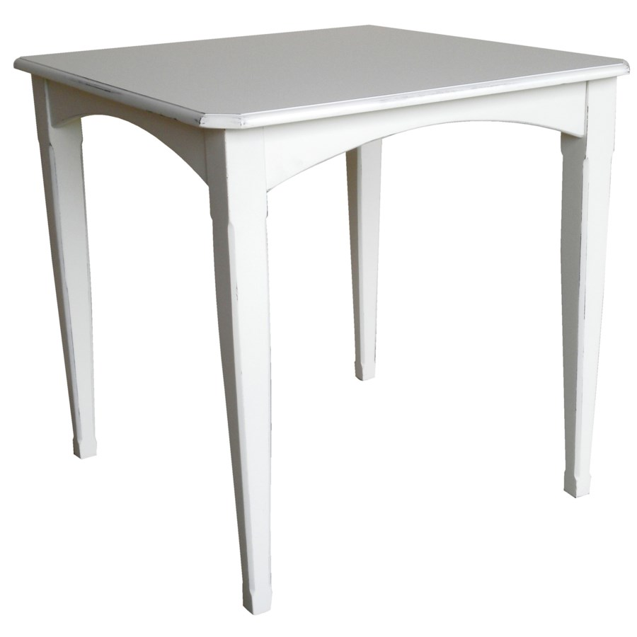 COTTAGE GATHERING TABLE -  WHT