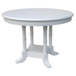 ISLAND BREAKFAST TABLE  -  WHT
