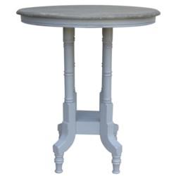 ISLAND GATHERING/PUB TABLE - WH/RW+