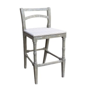 ISLAND COUNTER STOOL -  RW+