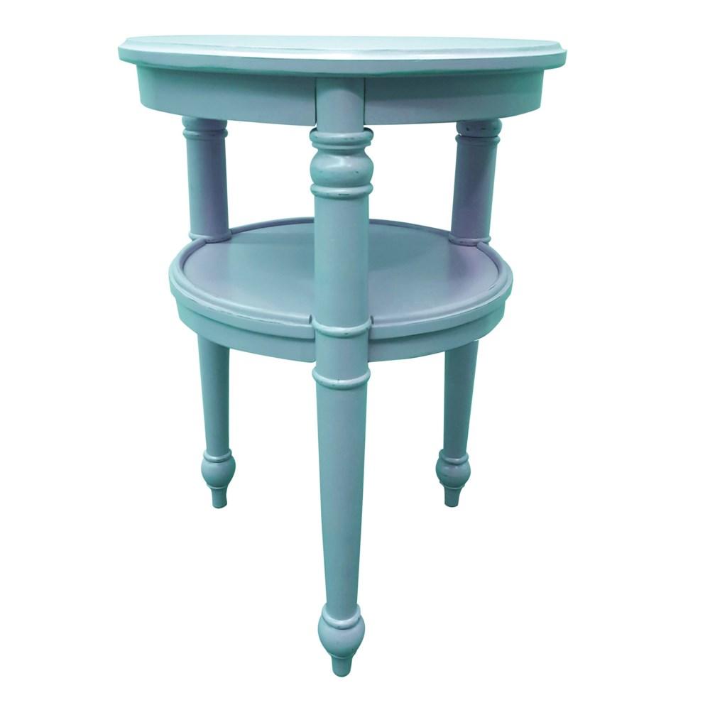 PROVENCE ROUND SIDE TABLE -  AQU