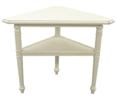 PROVENCE TRIANGLE TABLE- WHT