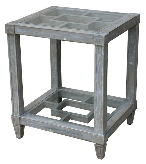 SANIBEL SIDE TABLE - RW+