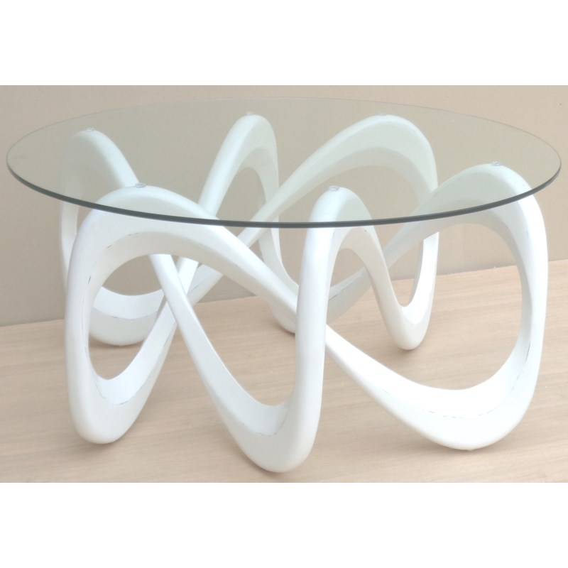 INFINITY COCKTAIL TABLE - WHT