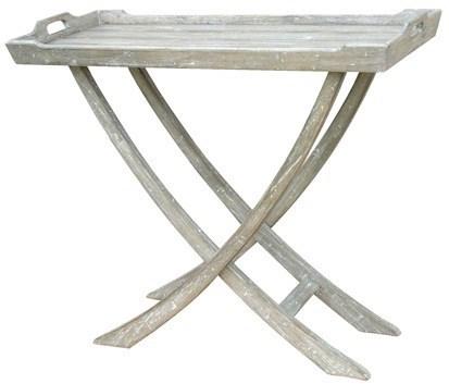 CHEDI CONSOLE TABLE -  WHT