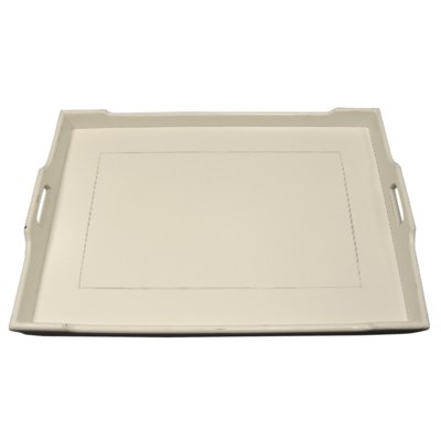 CHEDI SERVING TRAY- WHT