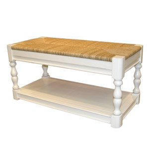 NEWPORT BENCH - WHT