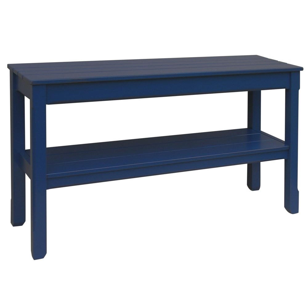 COTTAGE PLANK CONSOLE TABLE  -  NVY