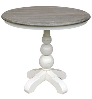 SOHO CAFE TABLE- WHT/RW+