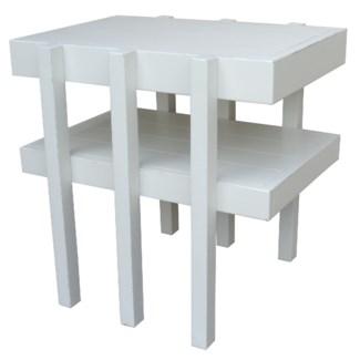 HAMPTON SIDE TABLE - WHT