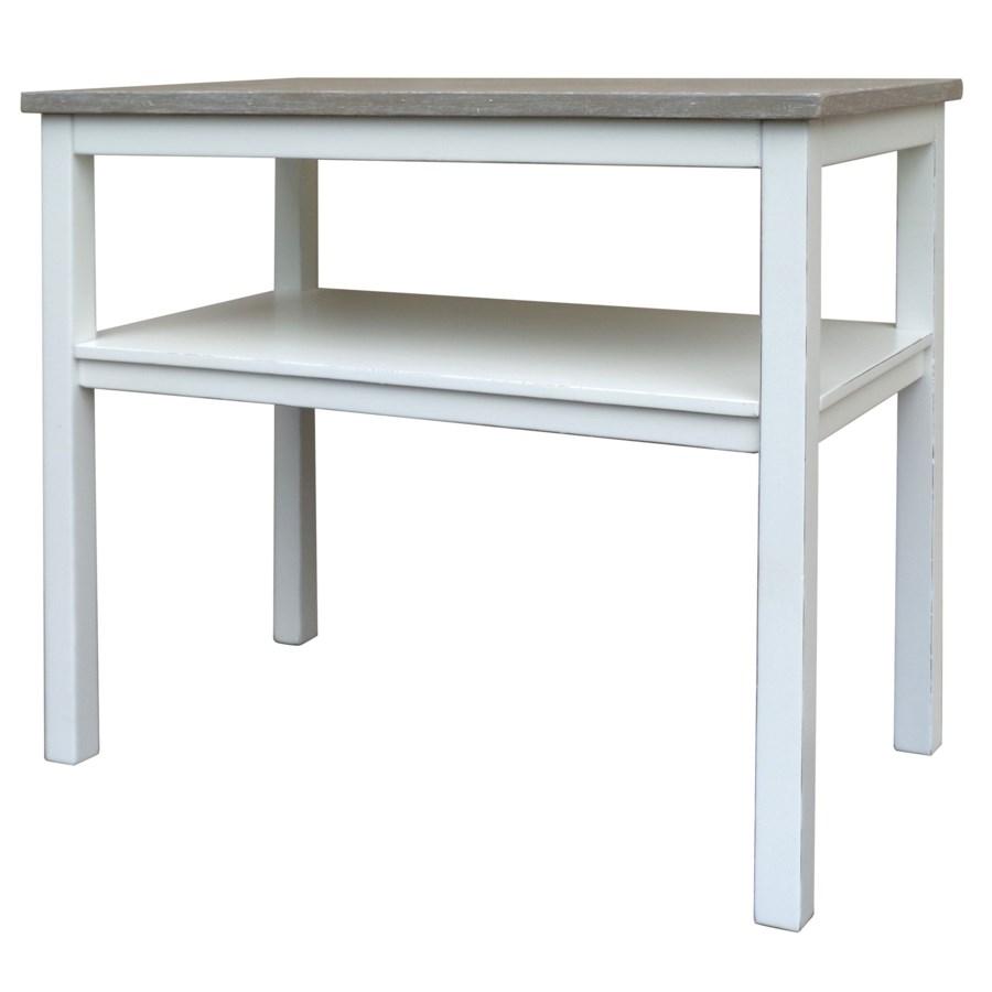 STUDIO CHAIRSIDE TABL E- WHT/RW+