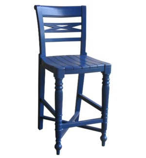 RAFFLES  COUNTER STOOL -  NVY