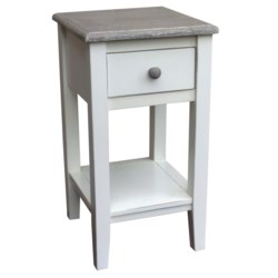 MISSION ACCENT TABLE - RW+/WHT+