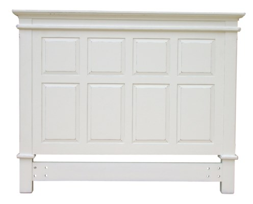 CHSPK QUEEN PANEL HB - WHT