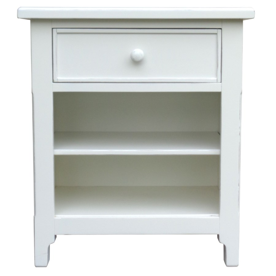 CHESAPEAKE BEDSIDE CHEST- WHT
