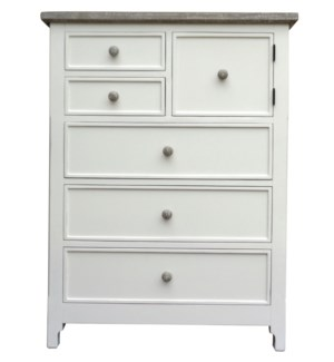CHESAPEAKE HIGH CHEST -  WHT/RW+