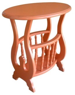 OVAL MAGAZINE TABLE- CRL