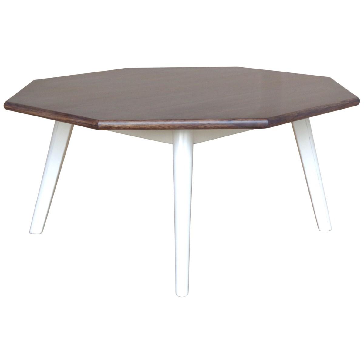 NANTUCKET OCTAIL TABLE - WHT/CC