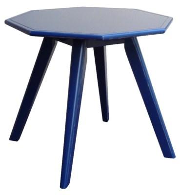 NANTUCKET LAMP TABLE - NAVY