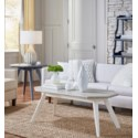 NANTUCKET LAMP TABLE - NVY
