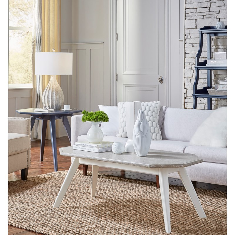 Nantucket Coffee Table.Nantucket Coffee Tbl Wht Rw Occasional Table Groups Tradewinds