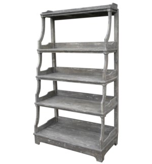 OPEN STACKED DISPLAYY SHELF  -  RW+