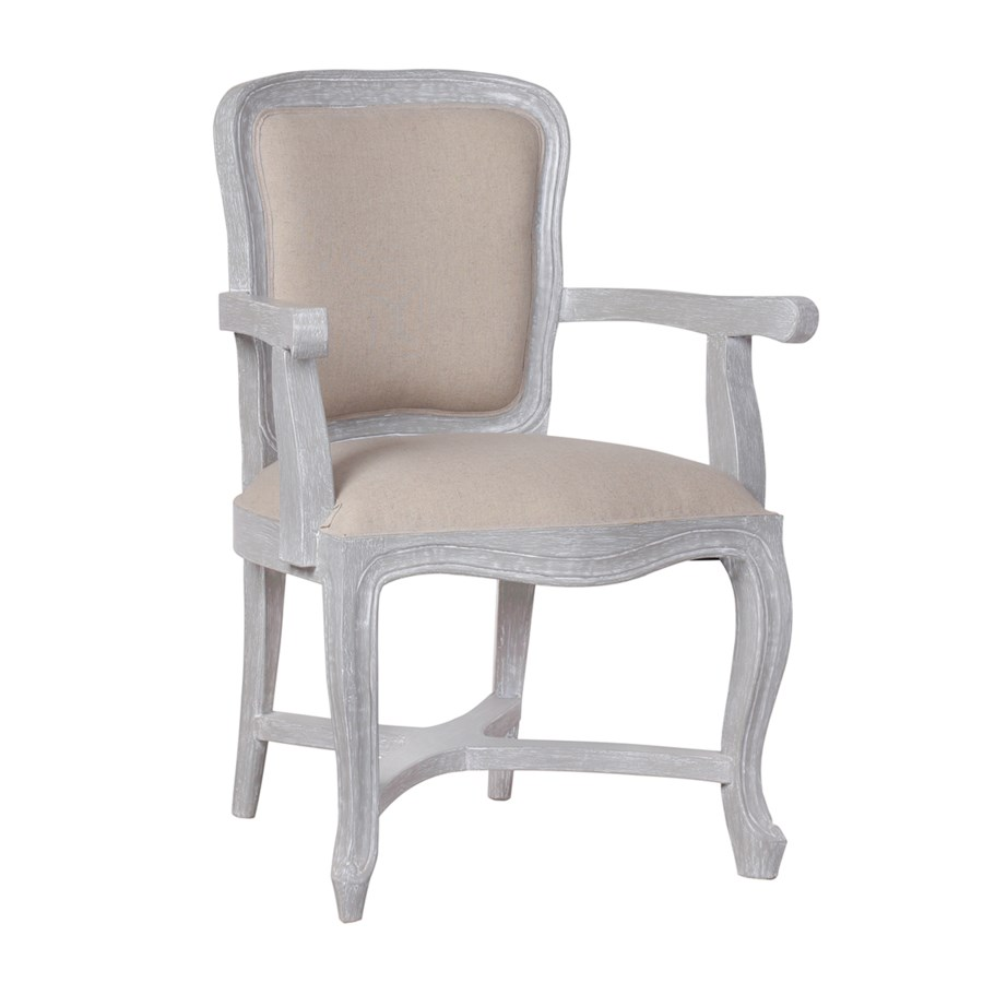 Penelope Upholstered Chair (Beyond Borders Fabric)