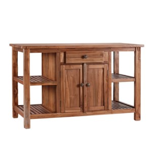 Large Rustic Kitchen Island