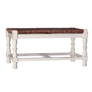 Country Backless 2 Seater Bench
