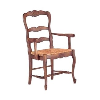 Jolie Armchair - Mendong with Carving
