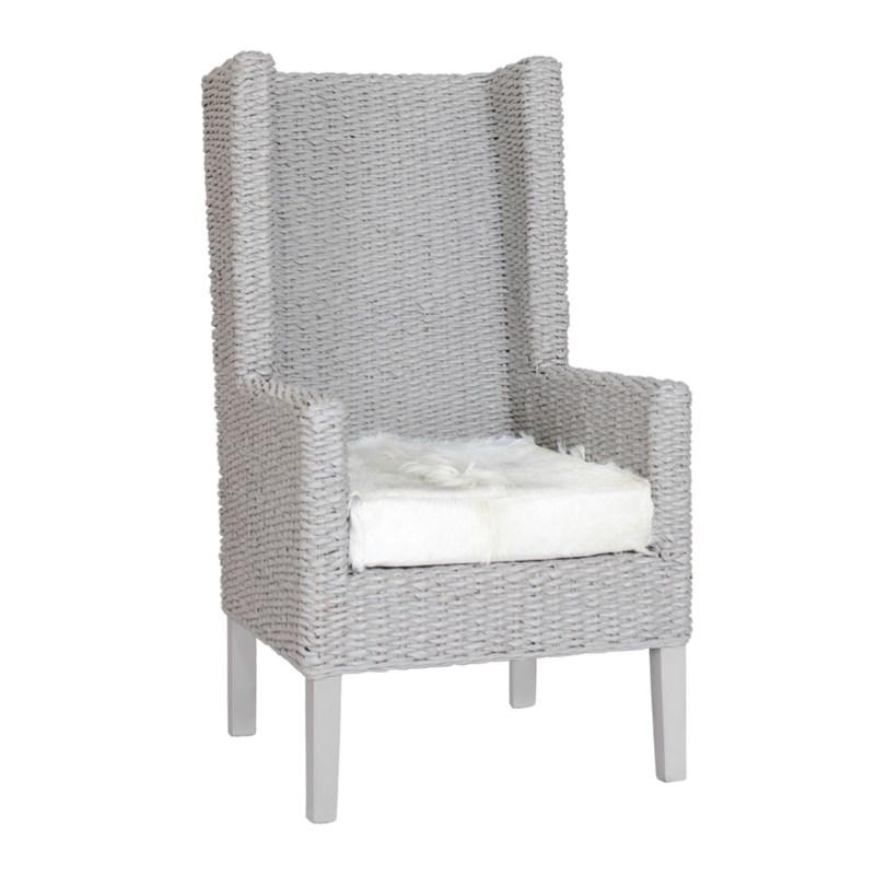 King Coastal Chair Abaca