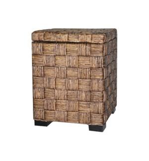 Rattan Storage Cube
