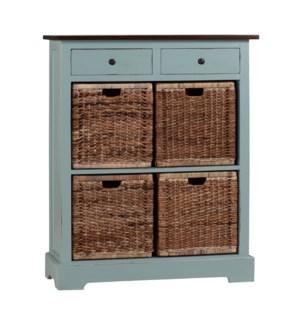 4 Basket Storage Unit