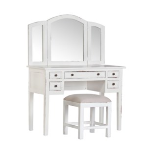 Sadie Small Vanity w Stool