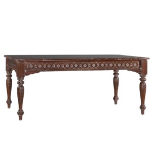 Authentic Carved Dining Table