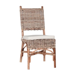 Riverwashed Rattan Chair