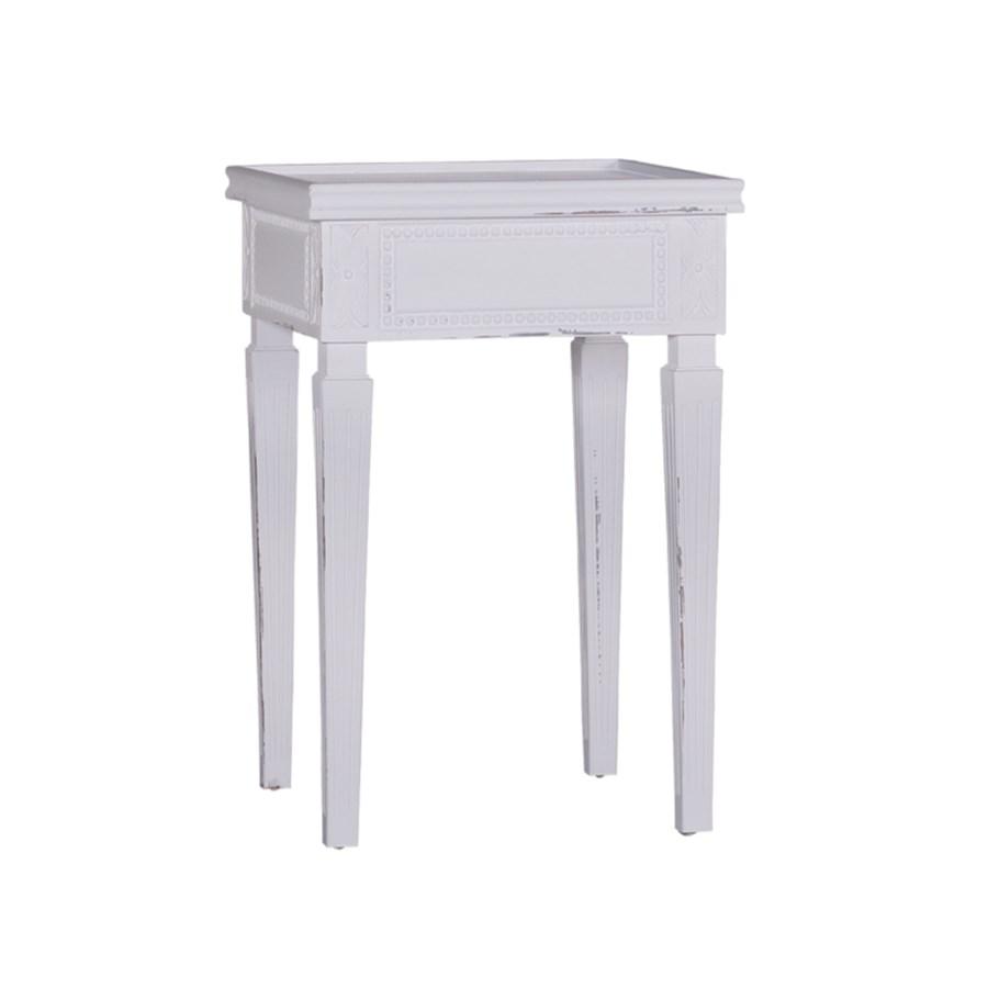 Julia Tea Table, Marble Top