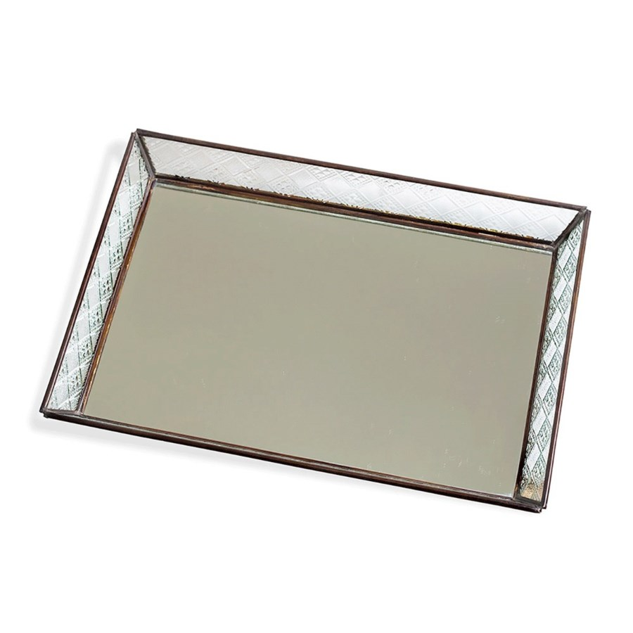 Large tray with pattern