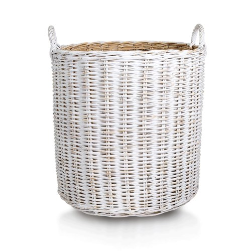 Simple Rattan Basket, Set of 2