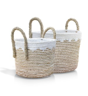 Macrame Banana Basket, Set of 2