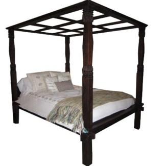 Blanca Canopy Bed, Queen