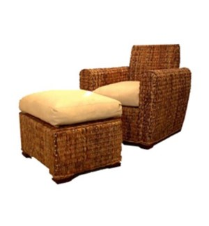 Catalina Chair and Footstool