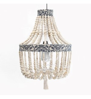 Margeaux Beaded Chandelierwith Tassel
