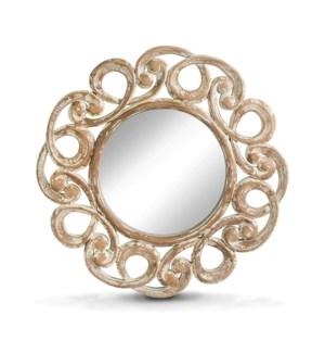 Round Curly Mirror