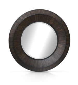 Megan Mirror - Black Wash